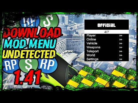 GTA 5 PC Online 1 41 - Official Mod Menu w/Hack (Download) - GTA Videos