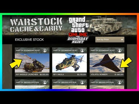 gta online doomsday vehicle prices