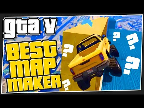BEST MAP MAKER | GTA 5 Online - GTA Videos