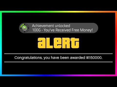 get free money in gta online