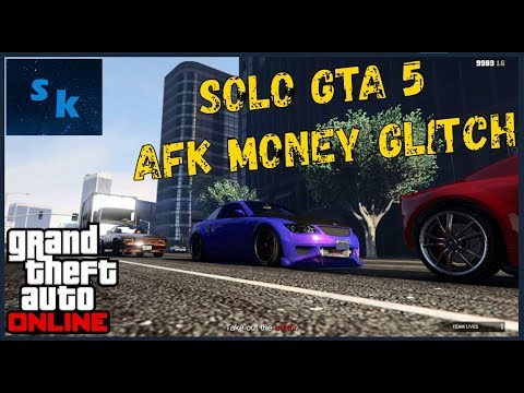 ULTIMATE* SOLO GTA 5 ONLINE MONEY GLITCH 1 43 - AFK GTA 5
