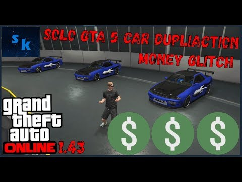 UNLIMITED* GTA 5 ONLINE MONEY GLITCH 1 43 CAR DUPLICATION