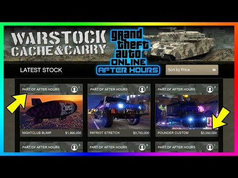 GTA Online After Hours DLC Update - All 11 NEW Confirmed