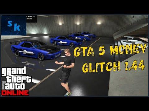 NEW SUPER EASY* GTA 5 MONEY GLITCH 1 44 - GTA 5 ONLINE MONEY