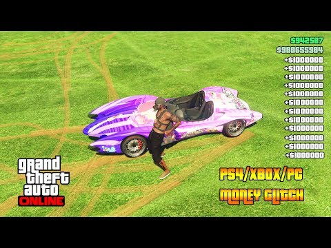 GTA 5 Online Modded Capture Job Money Glitch! (PS4/XBOX/PC