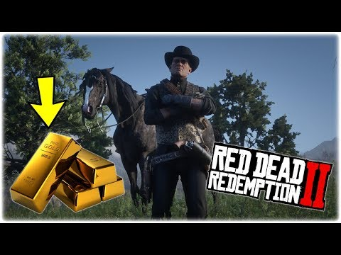 RDR2 UNLIMITED GOLD BAR GLITCH!! RED DEAD REDEMPTION 2 MONEY