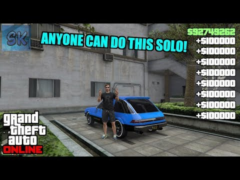 The NEW SOLO Gta 5 Online Money Glitch U Have Been WAITING
