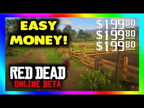 Red Dead Online MONEY GLITCH - MAKE EASY MONEY In Red Dead