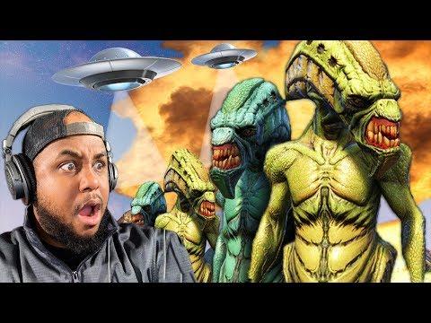 2018 UFO ALIEN INVASION MOD!! (GTA 5 Mods) - GTA Videos
