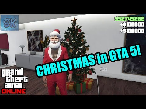 Gta 5 Christmas.Christmas Is Here In Gta 5 Online Get Free Money For
