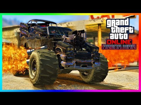 GTA Online - ARENA WAR DLC UPDATE! Release Date, NEW Vehicles