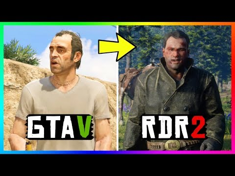 Grand Theft Auto Characters That Appear In Red Dead