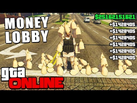 💲 FREE MONEY LOBBY GTA 5 ONLINE HACK l LIVE 2019 (PC PS4 XBOX